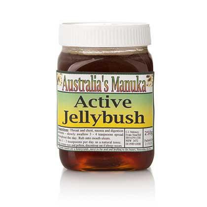 Active Jelly Bush Honey 250G Jar