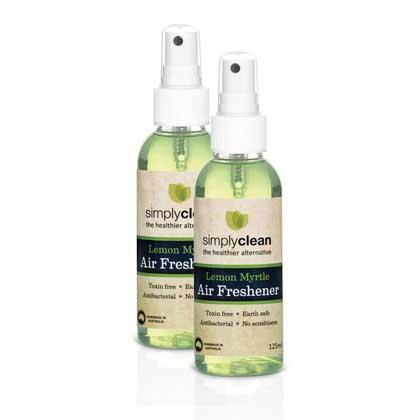 Air Freshener/Toilet Freshener Lemon Myrtle 125ml (Twin Pack)