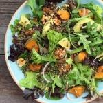 Lentil & Roast Pumpkin Salad