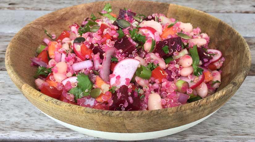 Quinoa & White Bean Salad