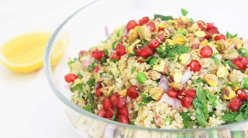 Colourful Quinoa Salad