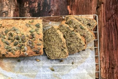 Gluten & Dairy Free Hidden Seed Loaf