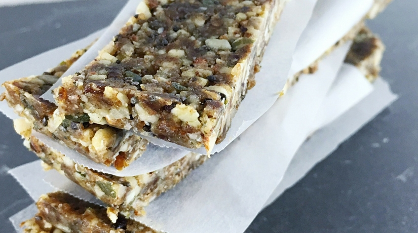 No Bake Paleo Nut Bar