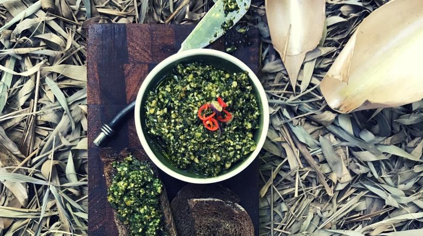 Traditional Pine Nut Pesto