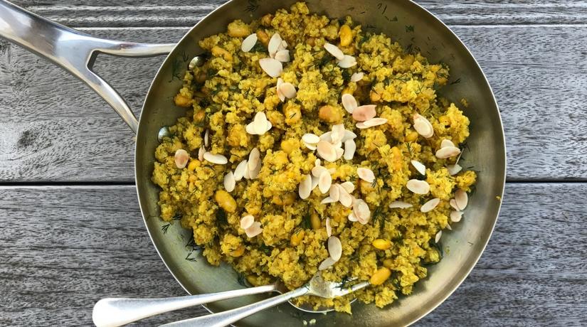 Quinoa and Cannellini Bean Pilaf