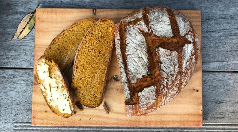 Spelt & Pumpkin Bread