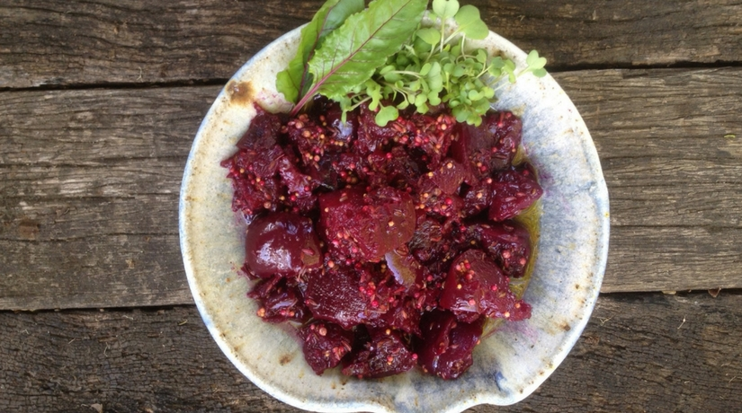 Spiced Marinated Beets