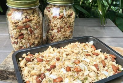 Homemade Organic Granola Recipe