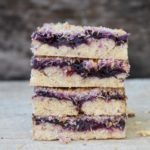 Vegan Berry Coconut Slice