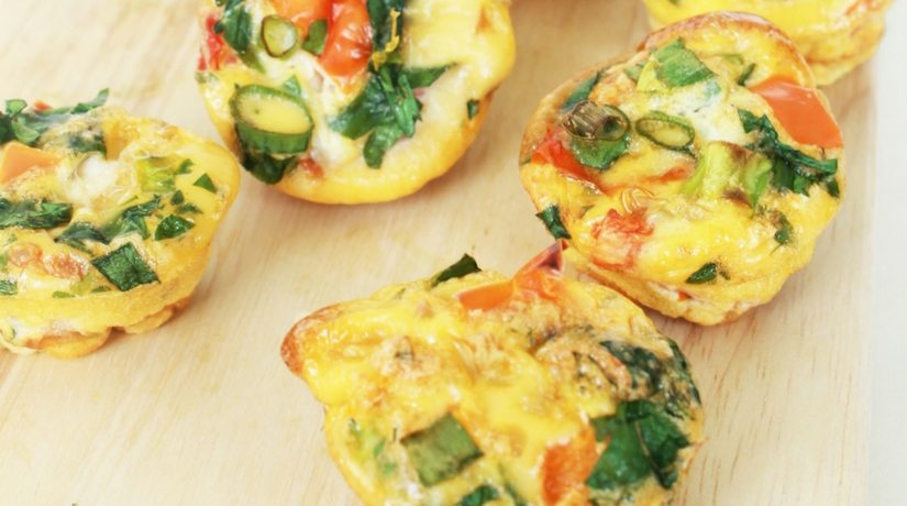 Eggy Broccy Muffins