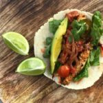 Chilli Macadamia Chicken Tortillas