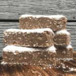 No Bake Banana Protein Bar