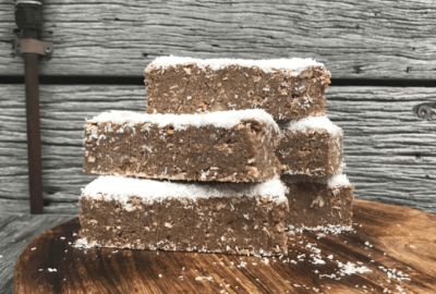 No Bake Banana Protein Bar (Vegan)