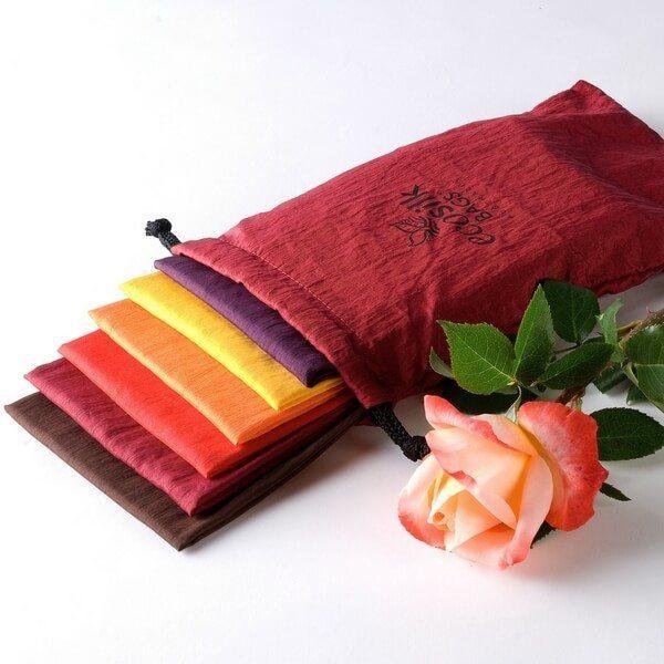 Ecosilk Bags 6 Pack - Autumn