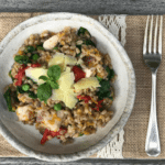 Organic Barley Risotto with Chicken