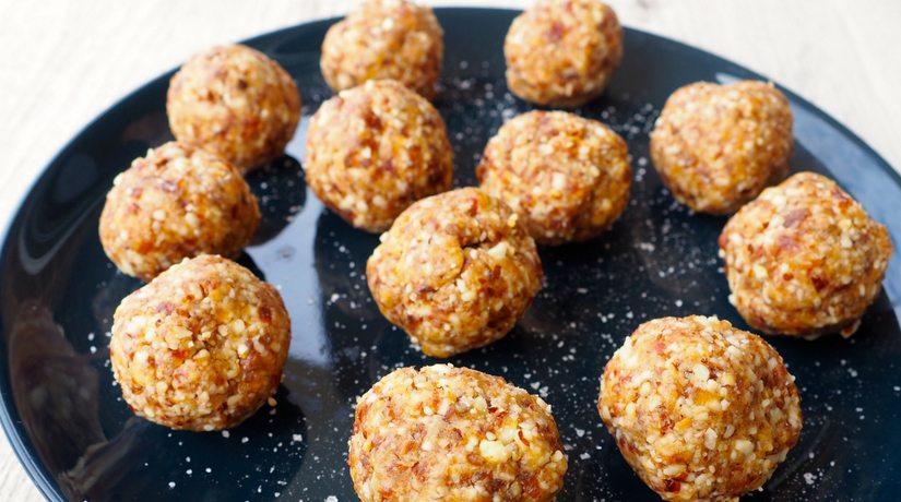 Salted Peanut Butter Balls