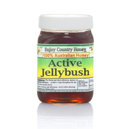Jellybush honey