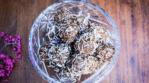Carob Tahini Spice Bliss Balls