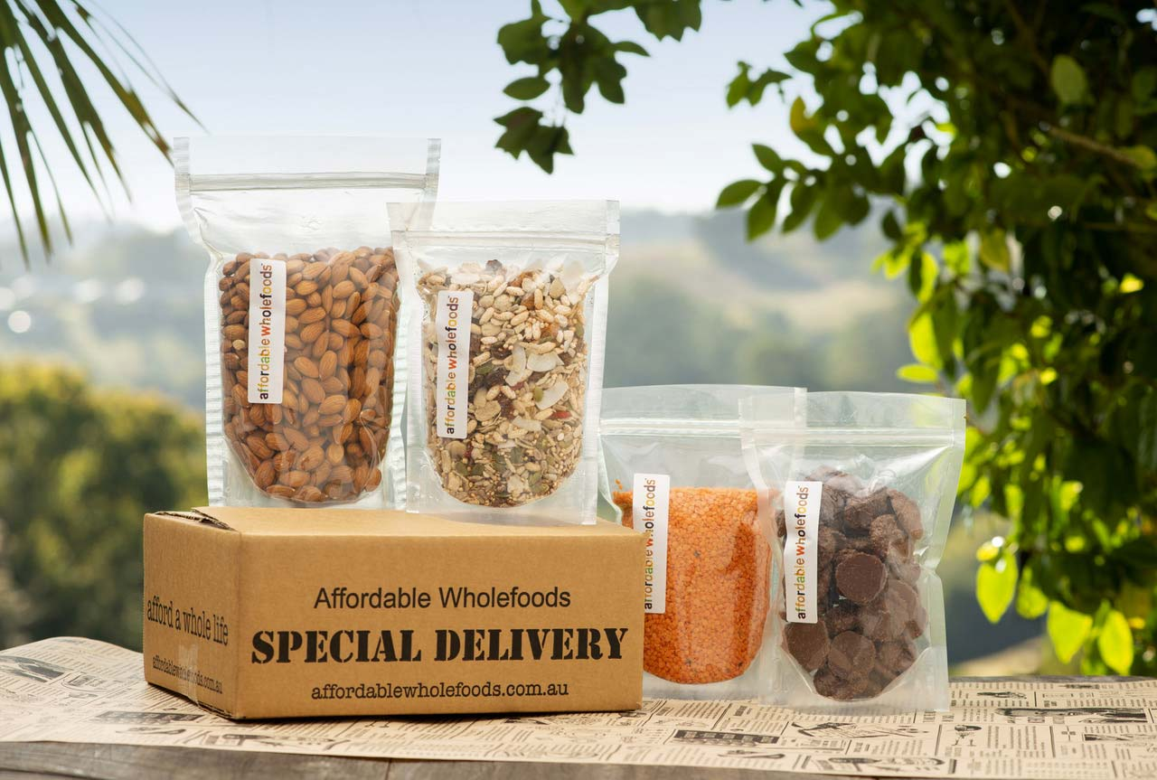 Affordable Wholefoods - Our Packaging