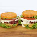 Blackbean Beetroot Burgers