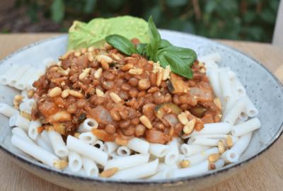 Lentil & Mushroom Rice & Quinoa Penne Pasta