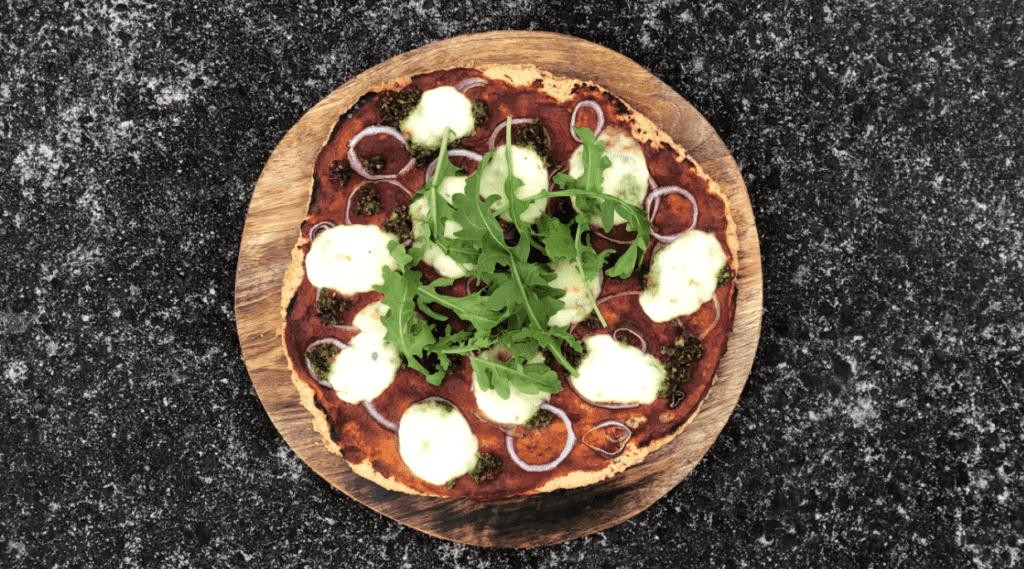 Summer Paleo Pizza