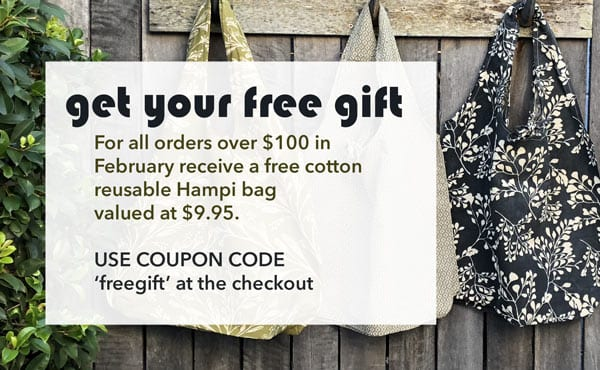 Affordable Wholefoods free gift Hampi Bag