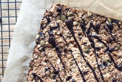 Vegan Hemp Seed Granola Bars
