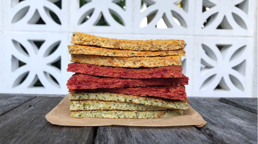 Rainbow Flat Breads