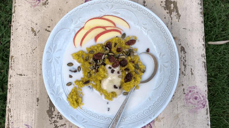 Golden Quinoa & Millet Porridge