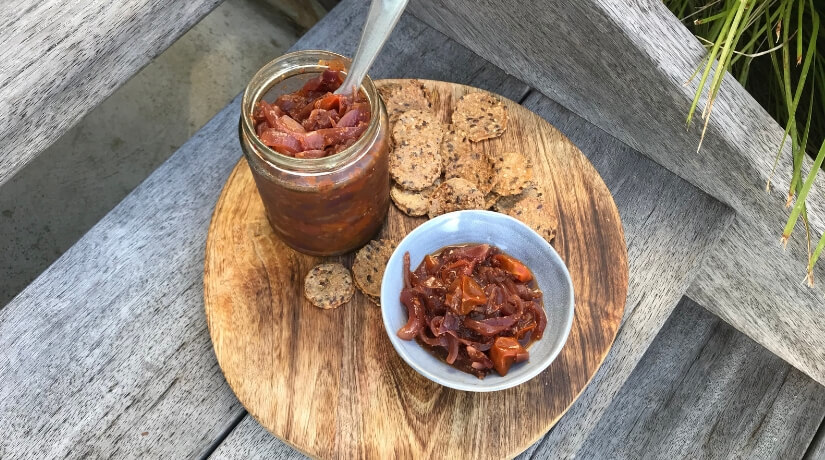 Red Onion and Tomato Jam