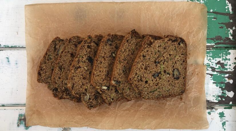 Zucchini & Walnut Loaf