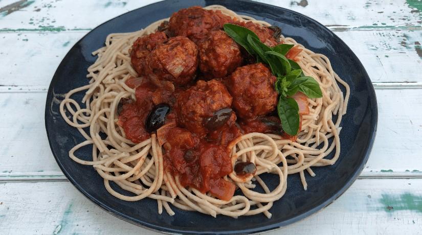 Vegan Meatballs with TVP