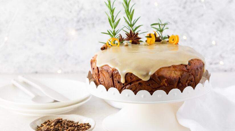 Chai Spiced Gluten Free Christmas Cakes