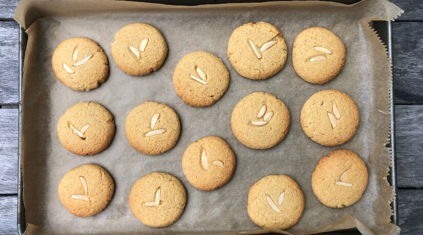 Maize Meal Cookies