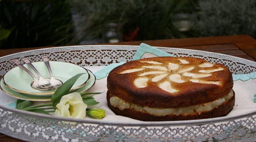 Gluten Free Apple Tea Cake