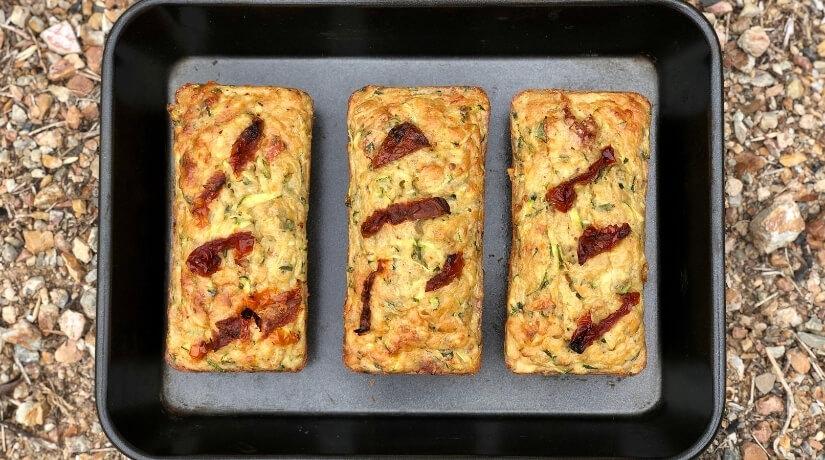 Zucchini & Parmesan Muffins