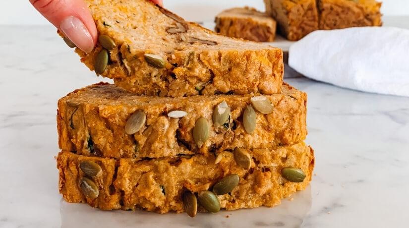 Zucchini & Pumpkin Bread