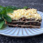 Mushroom and Lentil Lasagna