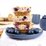 blueberry cheesecake cups